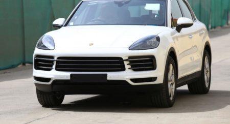 New 2018 Porsche Cayenne front