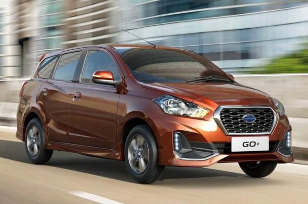 New Datsun Go+ facelift