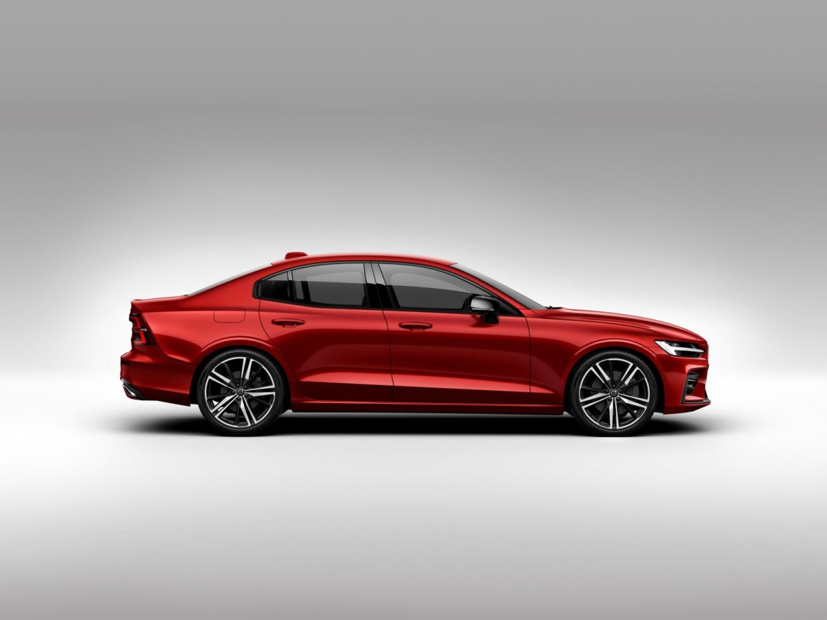 New Volvo S60 R design