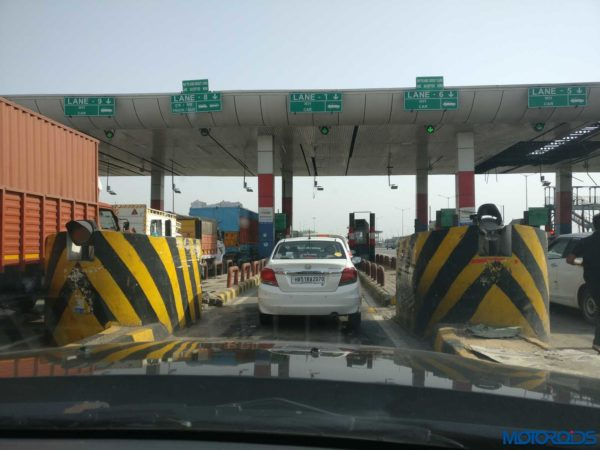 At Toll Plaza