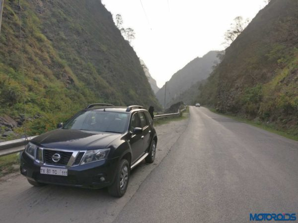 Nissan Terrano to Jalori Pass