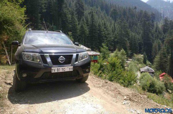 Nissan Terrano in Jibhi
