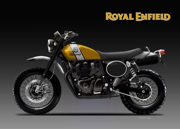 ROYAL ENFIELD TWIN SCRAMBLER SPORT – RENDER