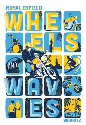 Royal Enfield Debuts Custom Motorcycles At Wheels & Waves 2018 (2)