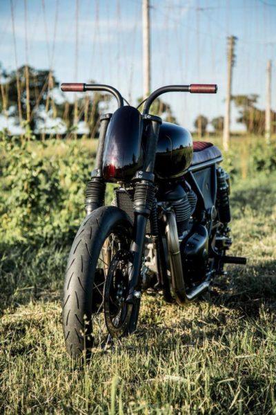 Royal Enfield Debuts Custom Motorcycles At Wheels & Waves 2018 (4)