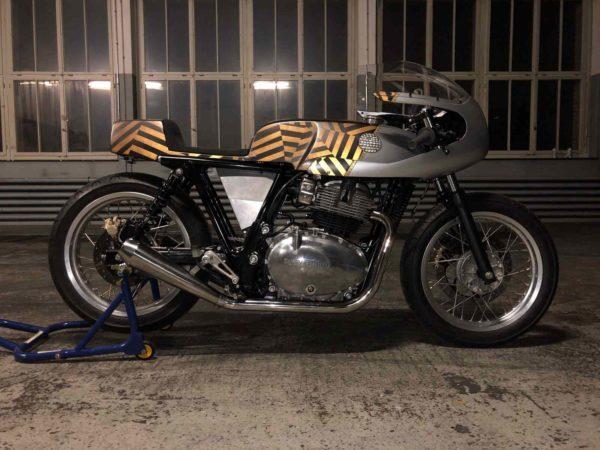 Royal Enfield Debuts Custom Motorcycles At Wheels & Waves 2018 (6)