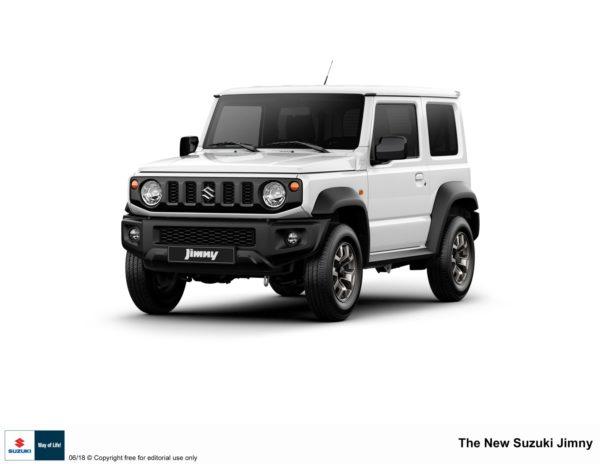 2018 Suzuki Jimny white