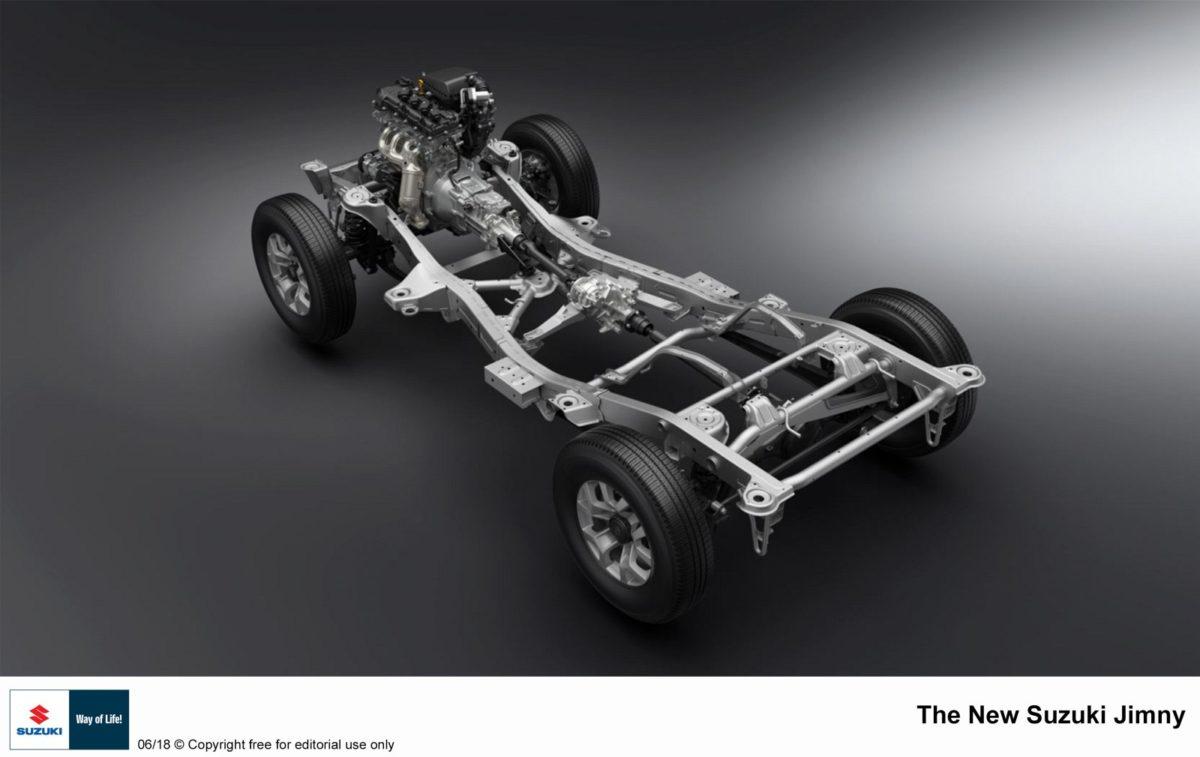2018 suzuki jimny chassis