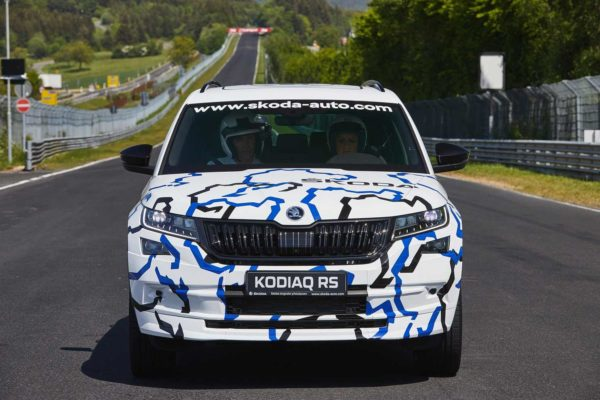 Skoda Kodiaq vRS Sets A New Record At Nurburgring (8)