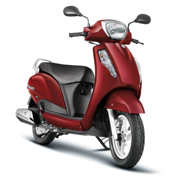 Suzuki Access 125 CBS_Candy Sonoma Red