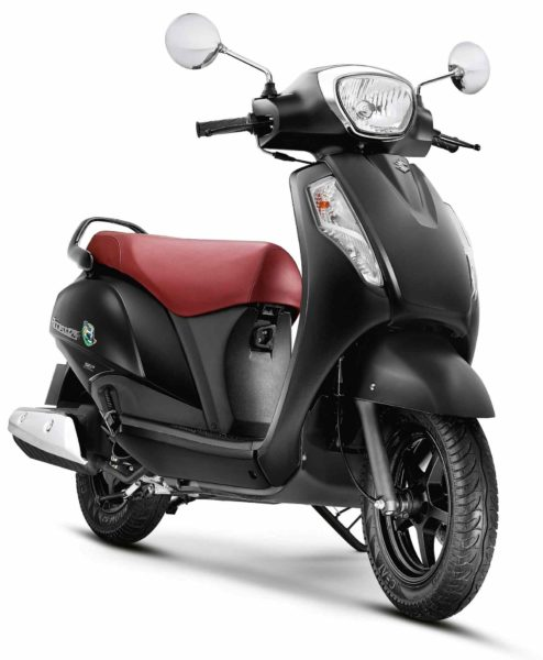 Suzuki Access 125 SE CBS_Glass Sparkle Black