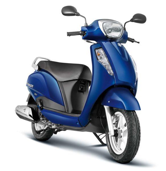 Suzuki Access 125_CBS_Pearl Suzuki Deep Blue