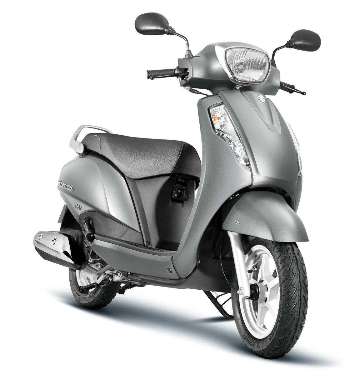 Suzuki Access125_CBS_Metallic Fibroin Gray