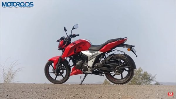 TVS Apache RTR160 4V – Road Test – Feature Image