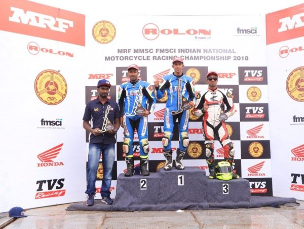 TVS Racing Makes Strong Start In The 2018 Indian National Motorcycle Racing Championship (2)