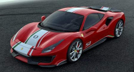 Tailor Made 'Piloti Ferrari' 488 Pista