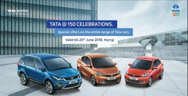 Tata Motors rolls out a special offer across its passenger vehicles range