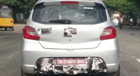 SPIED: Tata Tiago JTP Test Mule Spotted Once Again