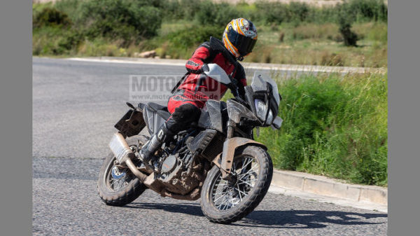 Upcoming KTM 390 Adventure Spied In Near Production Ready Guise (1)