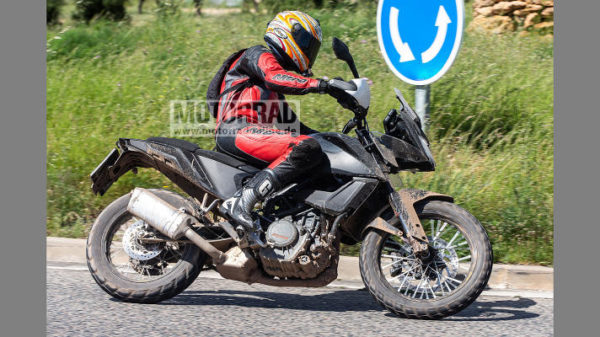 Upcoming KTM 390 Adventure Spied In Near Production Ready Guise (2)