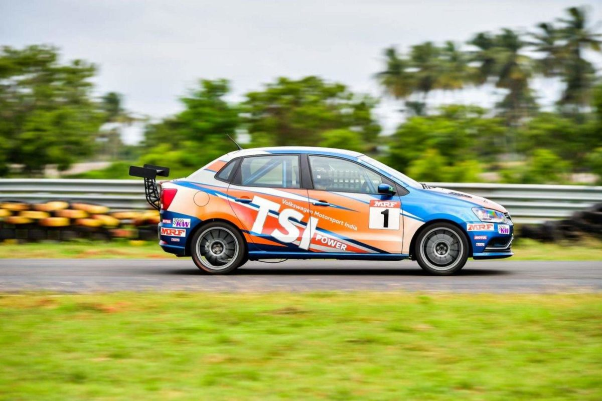 Volkswagen Ameo Cup 2018 Round One Kicks Off In Coimbatore (3)