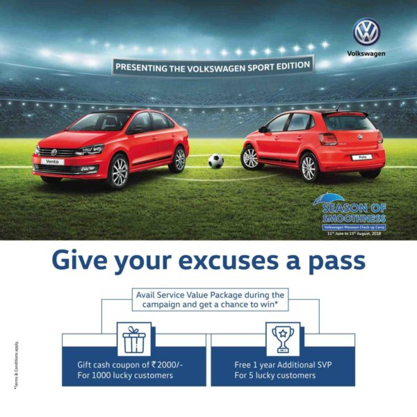 Volkswagen India Launches New Extended Warranty Option And A Service Value Package