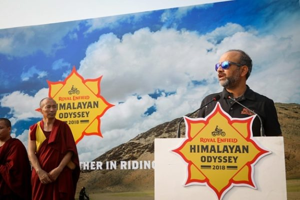 2018 Royal Enfield Himalayan Odyssey Flagged Off India Gate