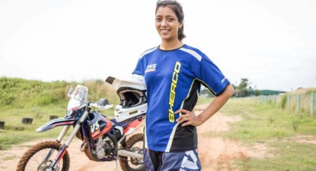 Aishwarya Pissay To Be Part Of Sherco TVS Rally Factory Team Squad For Baja Arajon 2018 (2)