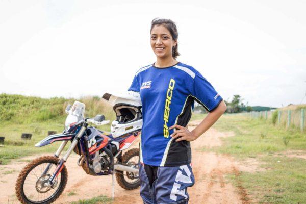 Aishwarya Pissay To Be Part Of Sherco TVS Rally Factory Team Squad For Baja Arajon 2018 (2)