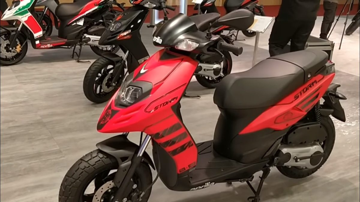Aprilia Storm 125 India Launch Details – Feature Image