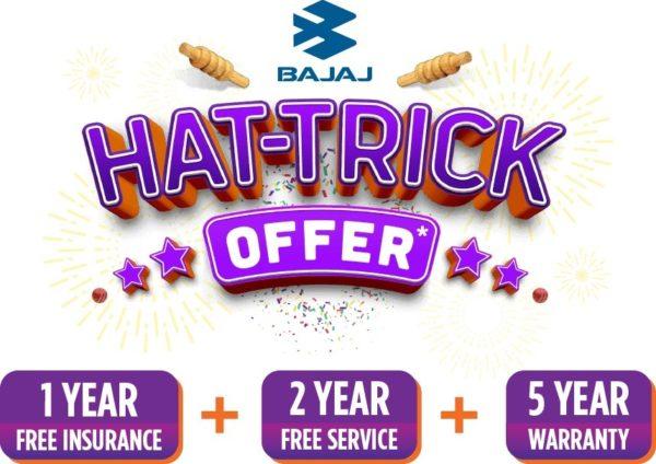 Bajaj Auto – Hat Trick Offer – Official Image