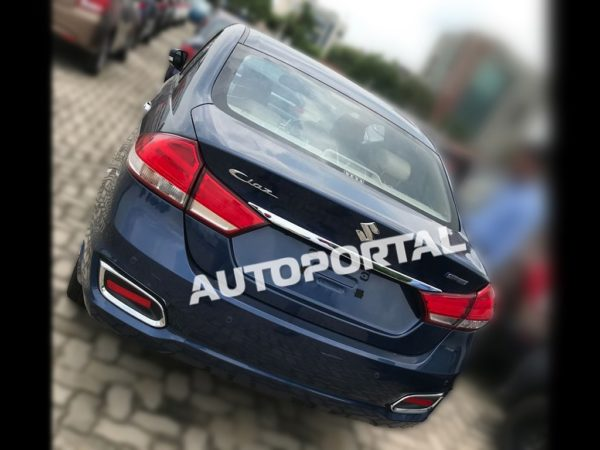 Clearest Images Of Upcoming 2018 Maruti Suzuki Ciaz Facelift (1)