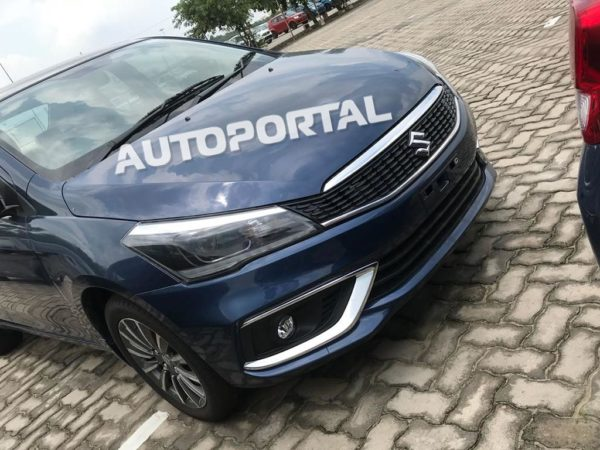 Clearest Images Of Upcoming 2018 Maruti Suzuki Ciaz Facelift (3)