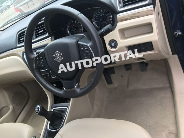 Clearest Images Of Upcoming 2018 Maruti Suzuki Ciaz Facelift (4)