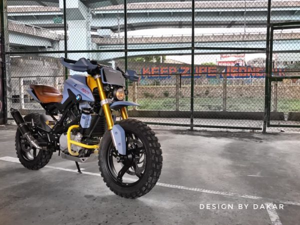 Customised BMW G310 Rock – DK Design Taiwan (2)