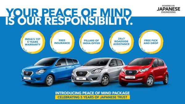 Datsun Peace of Mind Package