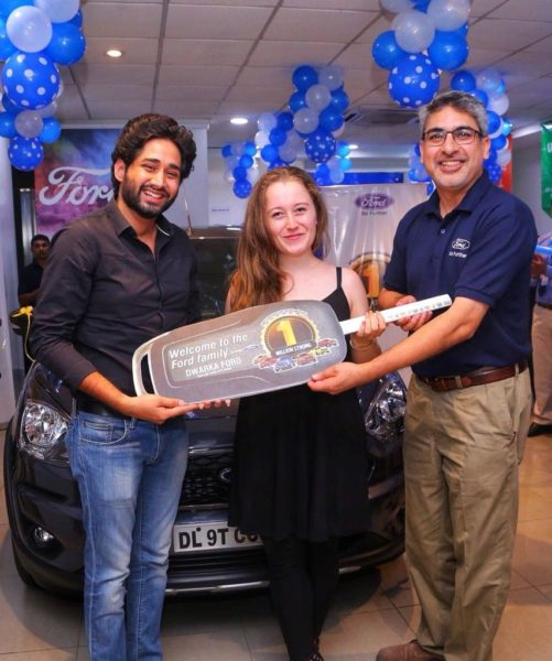 Ford India Delivers One Millionth Vehicle