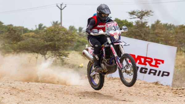 Harith Noah – TVS Racing Leads – 2018 Indian National Rally Championship