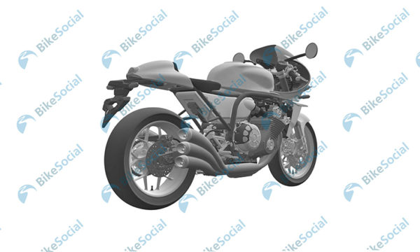 Honda Six Cylinder Retro Motorcycle Patent Images (3)