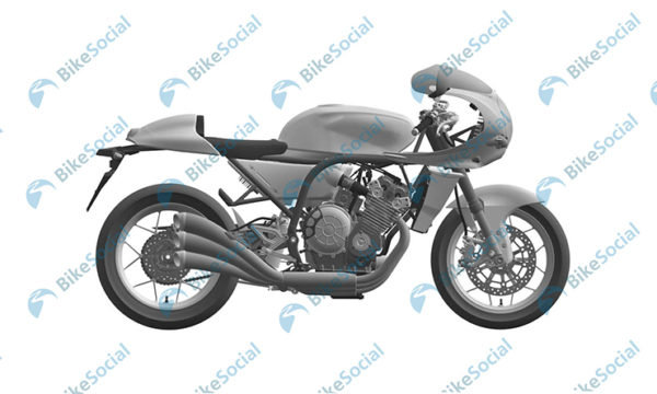 Honda Six Cylinder Retro Motorcycle Patent Images (4)
