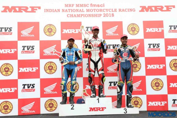 INMRC – TVS Racing – Super Sport 165 Group B category