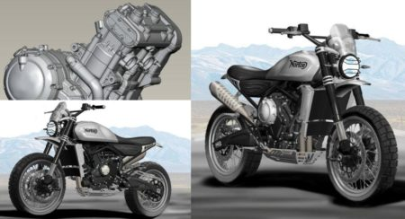 India Bound Norton Atlas 650 Scrambler Revealed Through Render - Feature Image