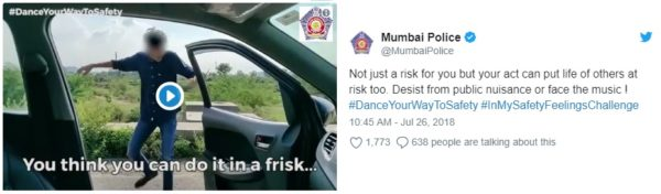 Kiki Challenge – Mumbai Police Warning – Feature Image