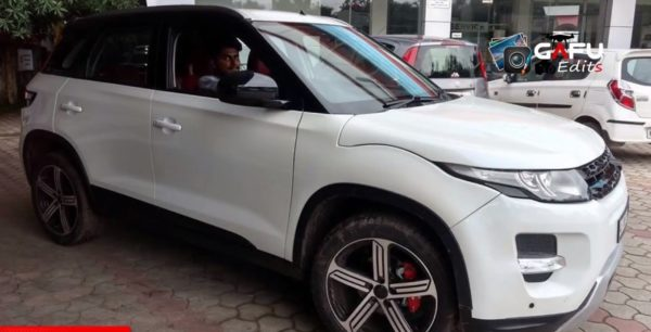 Maruti Vitara Brezza To Range Rover Conversion (1)