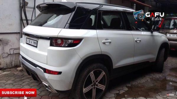 Maruti Vitara Brezza To Range Rover Conversion (4)