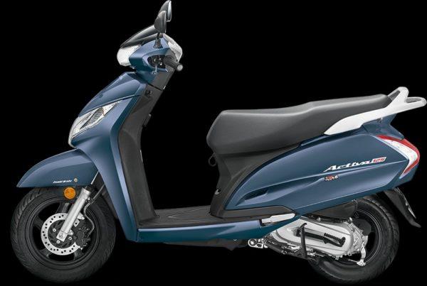 New 2018 Honda Activa 125 – MidnightBlueMetallic