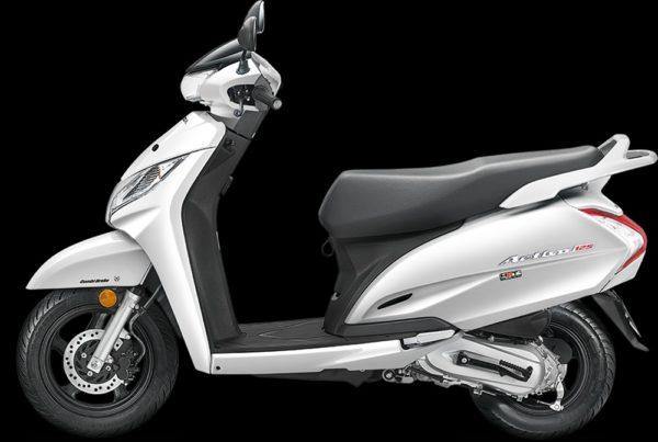 New 2018 Honda Activa 125 – PearlAmazingWhite