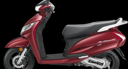 New 2018 Honda Activa 125 - RebelRedMetallic