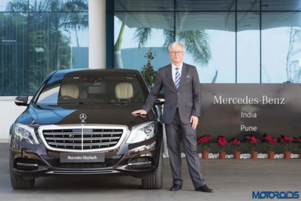Roland Folger – MD and CEO – Mercedes Benz India