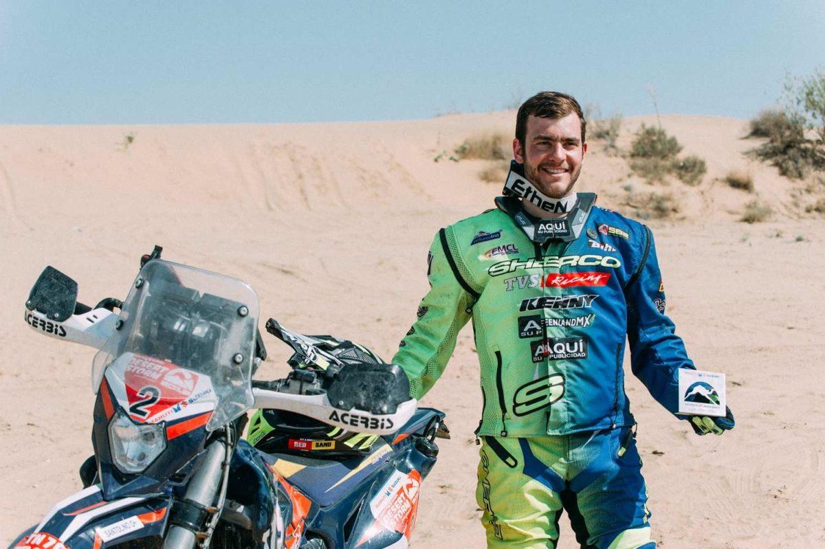 Sherco TVS Rally Factory Team – Lorenzo Santolino